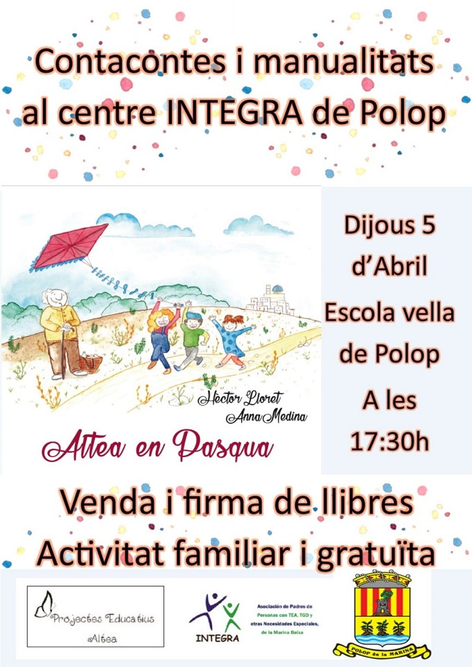 Contacontes i treballs manual al centre INTEGRA