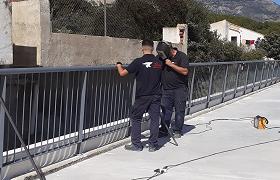 Obras planta primera aparcaiento municipal