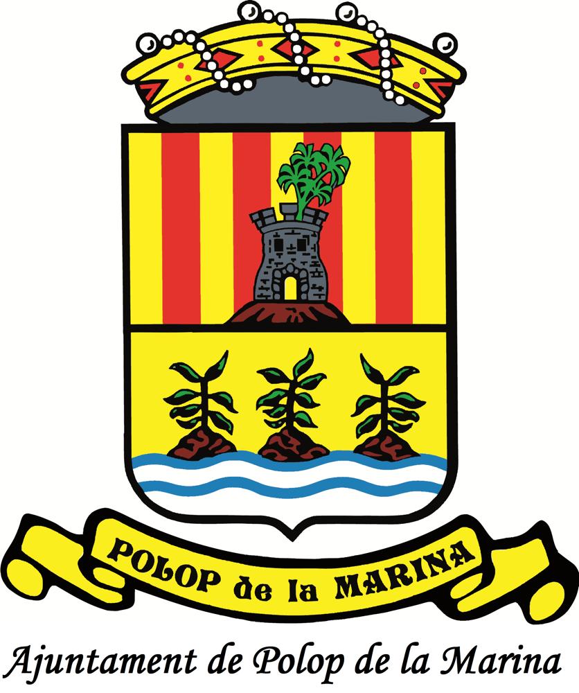 Escudo Polop de la Marina